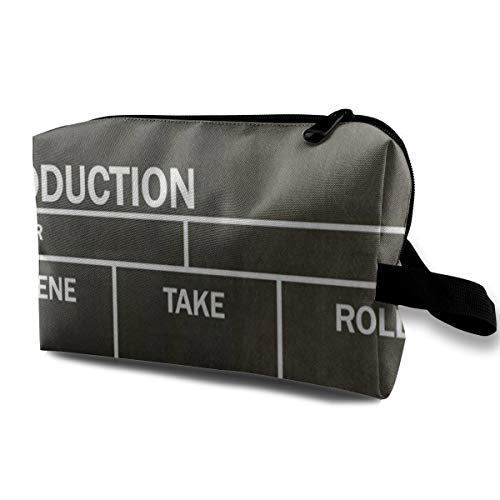 pper Board Black Portable Travel Multifunction Cosmetic Bags Vintage Storage For Women ()