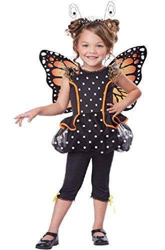 [8eighteen Monarch Butterfly Toddler Costume] (Blue Monarch Butterfly Costume)