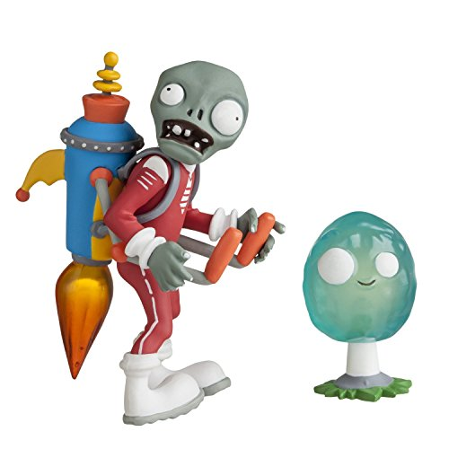 "Plants vs Zombies 3"" Future Jetpack Zombie with Infinut Action Figure"