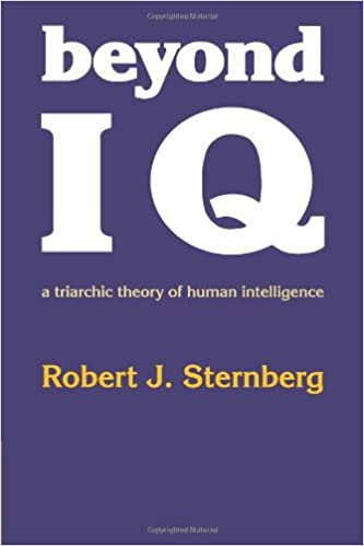 sternbergs triarchic theory of intelligence