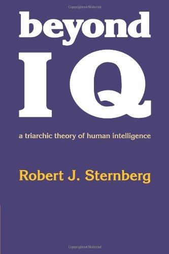 robert sternberg's triarchic theory of intelligence