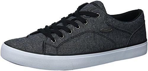 Lugz Menns Regent Lo Sneaker Svart / Hvit