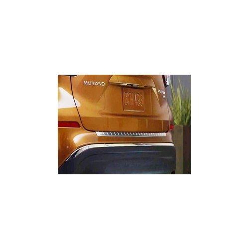 Nissan Chrome Bumper - 2015 Nissan Murano Rear Bumper Protector (Satin Chrome) 999B1-C3400