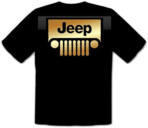 JEEP Auto Fun Schwarze T-Shirt -576