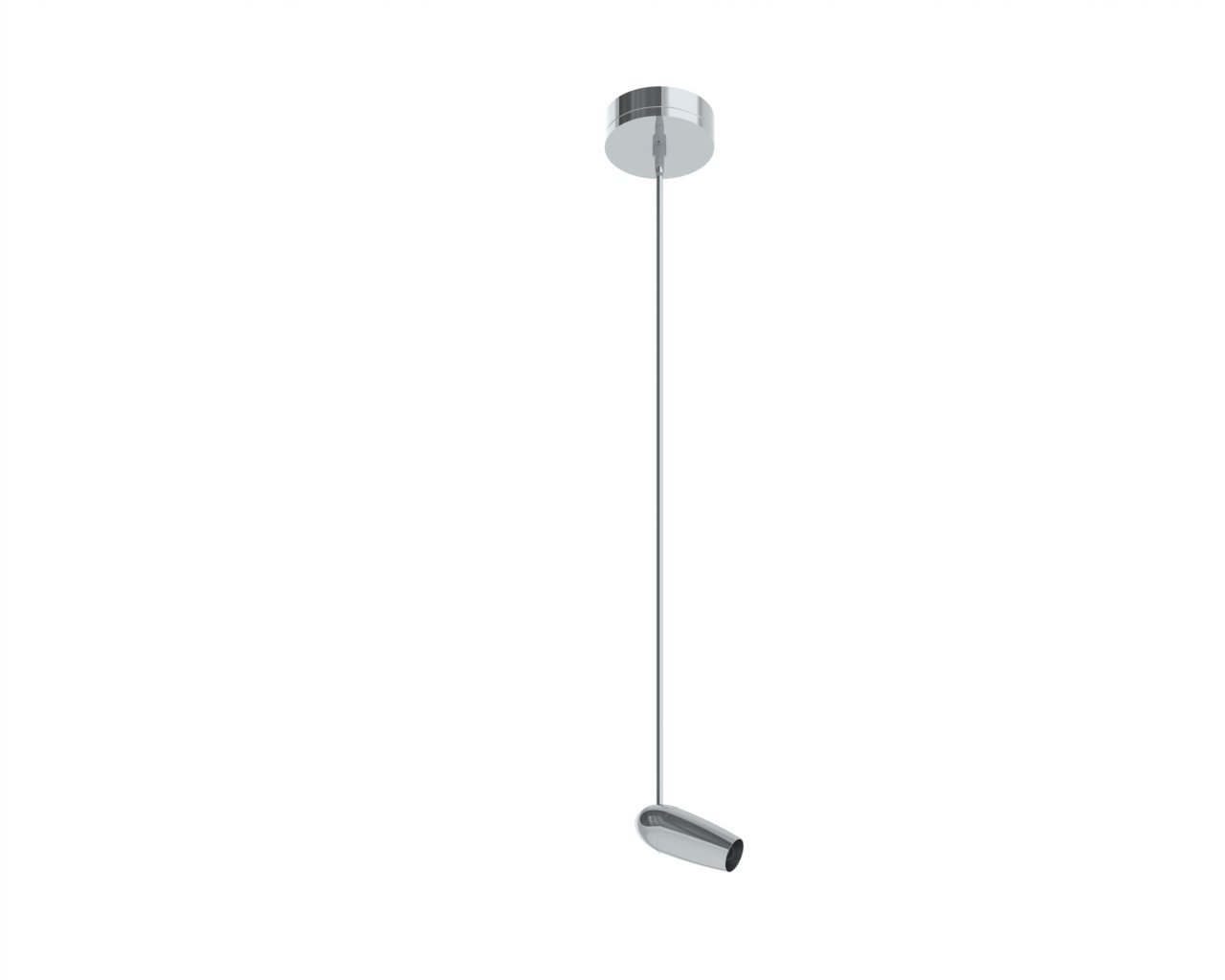 Prima Lighting 963-1601L-PC-36 Modern Howe Track Head, Small, Silver/Aluminum