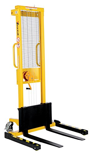 - Vestil VWS-770-AA Manual Hand Winch, Adjustable Stacker, 770 lb. Capacity