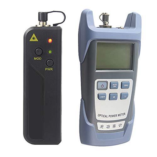 Baosity A Set Portable AUA-9 Optical Fiber Power Meter Tester Measure -70dBm~+10dBm + 30mW 20KM Visual Fault Locator Fiber Tester Detector Meter Pen by Baosity (Image #3)