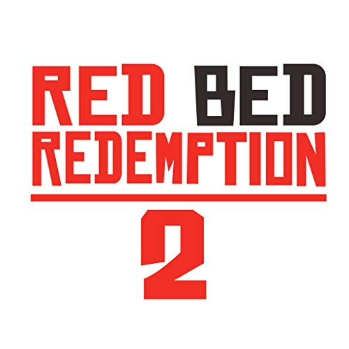 NetEra 2019 New Wilderness Big Dart Red Dead 2 Red Bed Redemption for Car Stickers Wall Stickers Living Room Computer Decoration Bedroom Decorative Wall Stickers. (AF4558) for $<!--$12.99-->