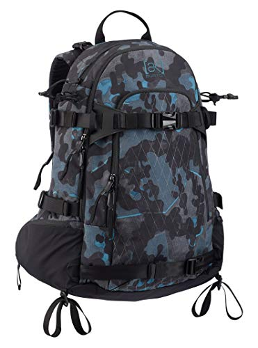 Burton AK TAFT 28L Backpack, Slate Shelter Camo Print ()