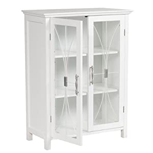 Awesome Elegant Home Delaney Floor Cabinet With 2 Doors