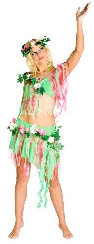 Spring Fairy Nymph Costume - Womens Medium (Costume Rasta Fairy Imposta)