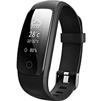 Willful Fitness Tracker Orologio Cardiofrequenzimetro Smartwatch IP67 Donna Uomo