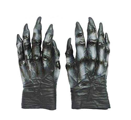 Ghost Gloves Cosplay Devil Halloween Party Man's