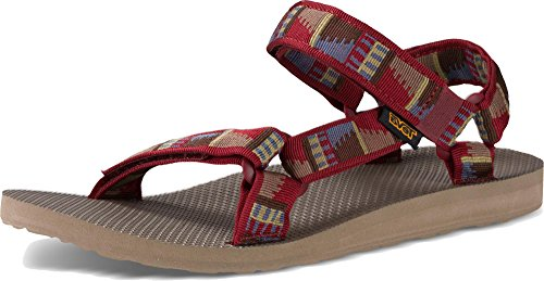 Teva Men's Original Universal Sports and Outdoor Lifestyle Sandal Peaks Fired Brick hnyEVgGz