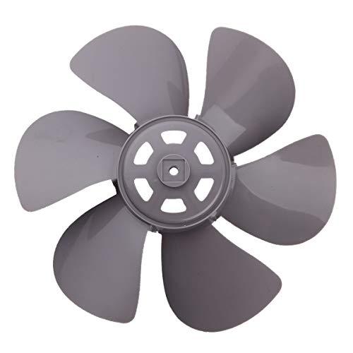 Freebily 12 Inch Plastic Fan Blade Six Leaves for Standing Pedestal Fan Table Fanner General Accessories Grey One Size