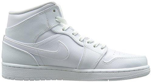 Jordan Scarpe Cool Sportive 1 Uomo White NIKE Grey white Mid Air w5q8x7gI