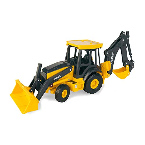 John Deere Big Farm Backhoe Loader Toy