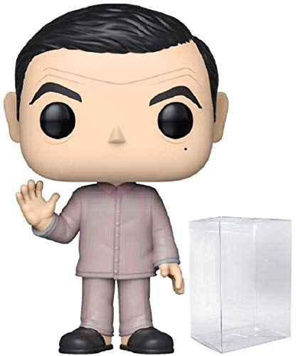 Funko Movies Mr Bean - Mr Bean Pajamas Pop! Vinyl Figure (Includes Compatible Pop Box Protector Case)