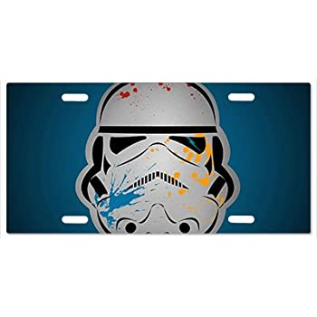 Star Wars Storm Trooper G5 Vanity License Plate
