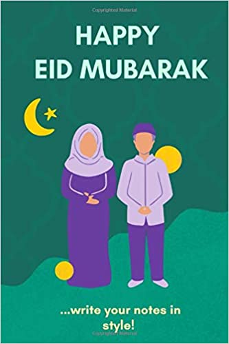 Eid Mubarak Graph Book 100 Pages Size 6x9 15x22cm Publishing Amsterdam Royal 9798646812125 Amazon Com Books