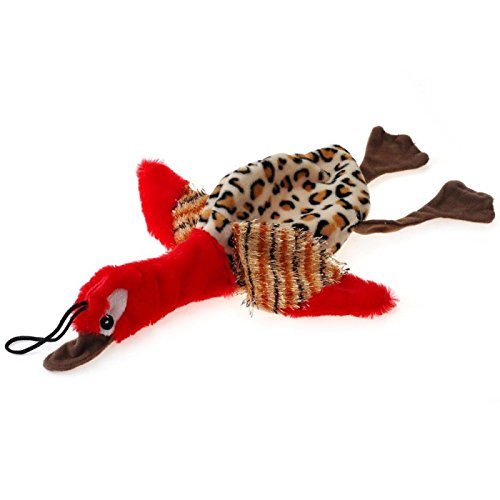 Squeak Plush Dog Toys Bird Stuffing Free Puppy Multi Color 309cm Interactive Play Toys For Dogs