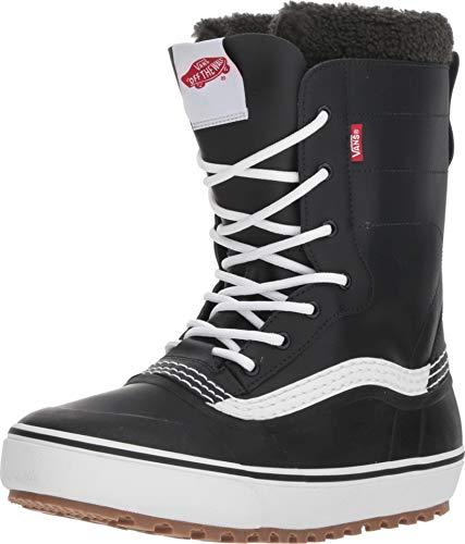 (Vans Standard Men's Snow Boots, Black/White, 2019 (10.5 D US))