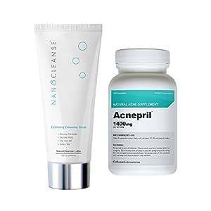 Wheeler Saxon Labs  Nanocleanse Deep Cleaning Acne Face Wash, 1 / Acnepril, 8 oz