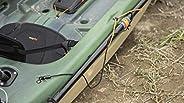 Pelican Sport PS0654-2 Kayak Paddle Leash - Easy Hook-and-Loop System, Black