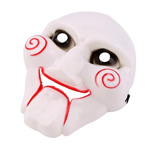 (Halloween Decorations Creative Terror Masquerade Halloween Party Halloween Costumes Cosplay for Film Chainsaw Killer PVC Party Club Face Mask For Adult Halloween)