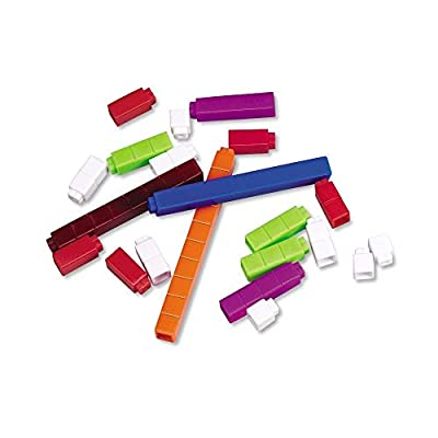 Learning Resources Connecting Cuisenaire Rods Introductory Set: Office Products