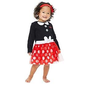 Disney Girls Costume Dress With Headband Incredibles Minnie Jessie Vampirina