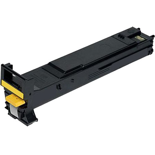 Konica-Minolta Compatible Konica Magicolor 5550/5670 Yellow High Capacity Toner Cartridge (12000 Page Yield) (A06V233)