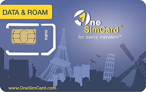 am - International SIM Card for 200+ Countries with $10 Credit. Data from $0.02 per MB. Nano size SIM for tablets, hotspots, iPad, iPhone 5/6+, Galaxy S6/S7 & other Android phones (One Sim Card)