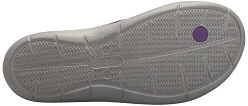 Donna Amethyst Flip Swiftwater Grey Infradito light Crocs Women SqCpnwaqR