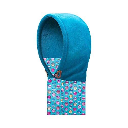TRIWONDER Balaclava Hat for Kids Face Mask Thermal Fleece Neck Warmer Winter Ski Mask Full Face Cover Cap (Blue) (Ski Face Mask Boys Toddler)