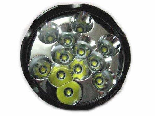 NEW HIGHLY®-Trustfire High-power Super Bright 13000 Lumens 12x Cree Xm-l T6 LED 26650 18650 Flashlight Torch