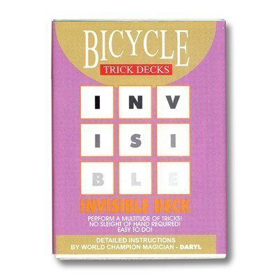 Invisible Deck Bicycle - red (Invisible Deck Bicycle)
