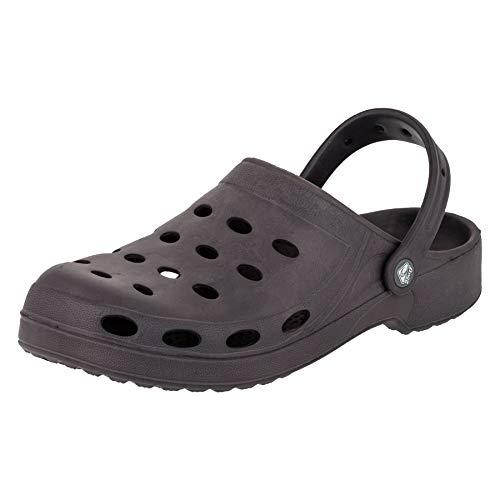 Herren Garten M195dgr Dunkel Schuhe In Pantoffel Vielen Grau Farben Freizeit 2surf Clogs Strand Pool AFdFZq