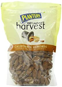 Planters Harvest California Almonds, 11-Ounce Bags (Pack of 3)