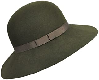product image for Hats.com Abby Wide Brim Hat Loden, S/M