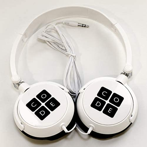 Code Headphones White