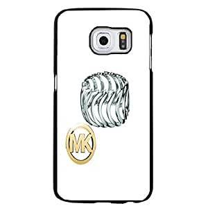 Silver Ring MK Logo Michael Kors Phone Case Cover for Samsung Galaxy S6 Edge Plus Smiple Style