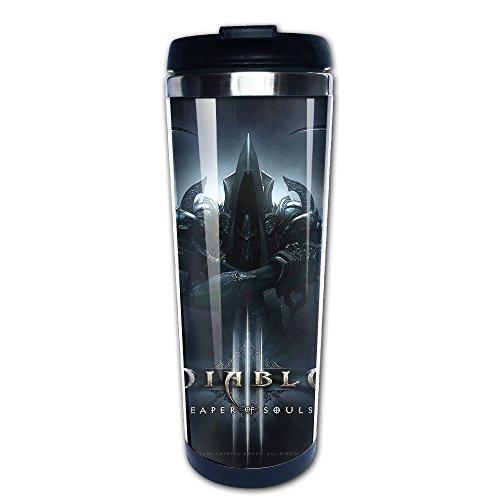 [Diablo 3 Fathom Studios Logo Stainless Steel Mug / Coffee Thermos / Vacuum Flask] (Diablo Reaper Of Souls Costume)