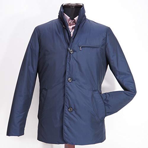 40990 秋冬 日本製 ダウンコート ハーフコート ジャケット ブルゾン ネイビー(紺) サイズ 46(M) G&G GEEGELLAN ジーゲラン 紳士服 メンズ 男性用