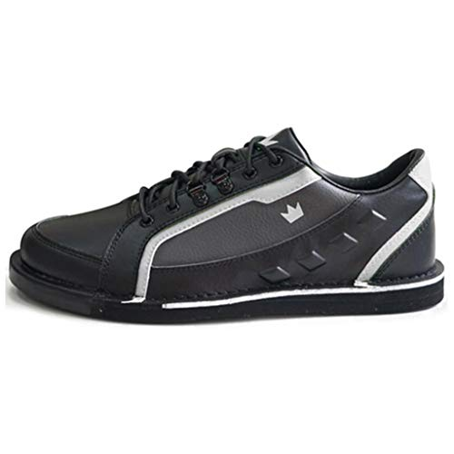 Brunswick Mens Punisher Bowling Shoes Right Hand Black//Silver