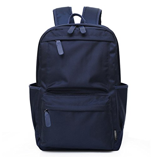(Backpack Oxford Cloth School Wind Bag Travel Student Daypack (Color : Blue) )