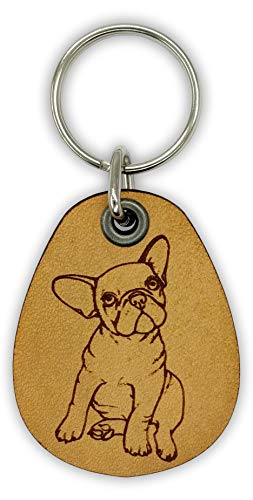 french bulldog key ring - 8