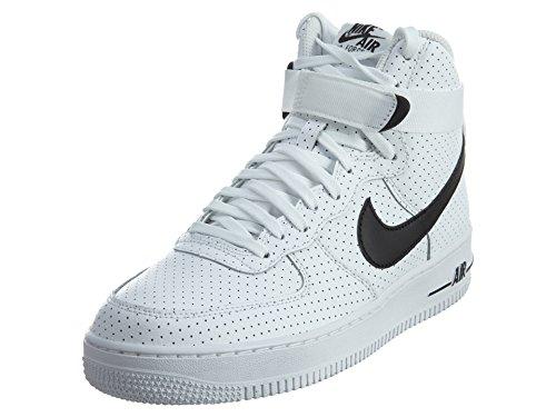 Force Mid GS white de 1 Baloncesto White Zapatillas Black Nike Niños Air Rwq5CB4