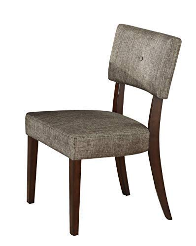 (ACME 16252 Set of 2 Drake Espresso Side Chair, 36-Inch)
