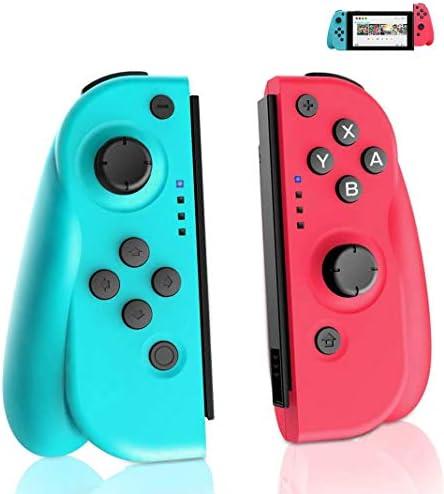 GEEMEE Mando Switch para Nintendo Switch, Bluetooth Wireless Controller Gamepad Joystick Controlador…